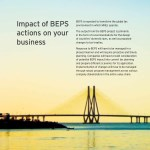 impact of beps actions on your business