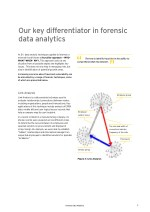 our key differentiator in forensic data analytics