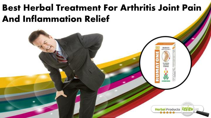 best herbal treatment for arthritis joint pain n.