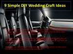 9 simple diy wedding craft ideas 2