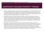 corporate housing property trends