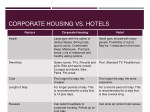 corporate housing vs hotels 1