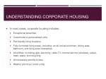 understanding corporate housing