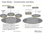 case study construction activities