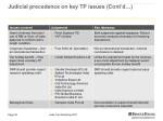 judicial precedence on key tp issues cont d 3