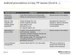 judicial precedence on key tp issues cont d 5