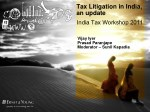 tax litigation in india an update india