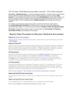 ca course chartered accountant course ca online