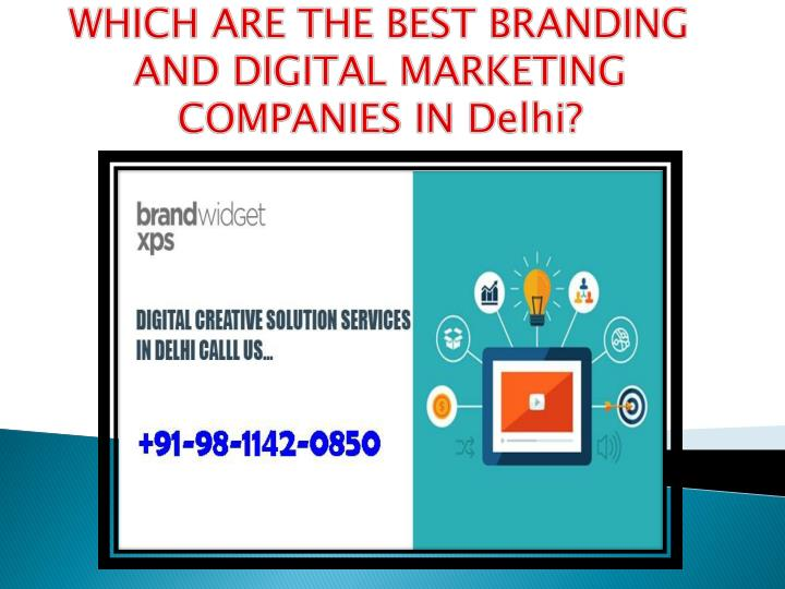 which are the best branding and digital marketing n.