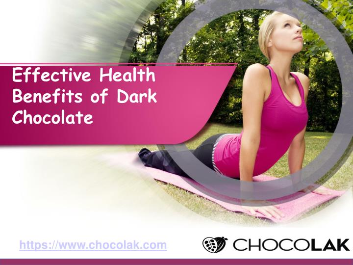 effective health benefits of dark chocolate n.