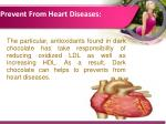 prevent from heart diseases