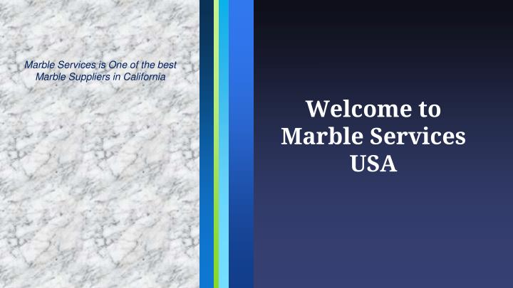 welcome to marble services usa n.