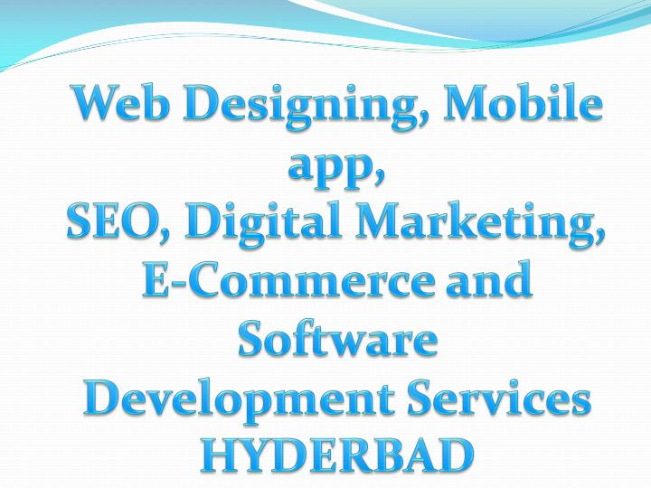 web designing mobile app seo digital marketing n.
