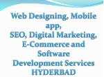 web designing mobile app seo digital marketing