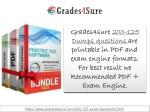 grades4sure grades4sure 200 dumps questions dumps