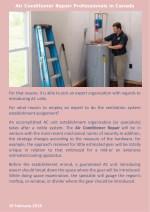 air conditioner repair professionals in canada 1