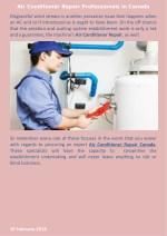 air conditioner repair professionals in canada 2