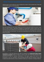 water heater installation professionals in canada 1