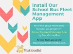 install our school bus fleet management app