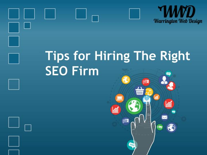 tips for hiring the right seo firm n.