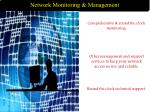 network monitoring management