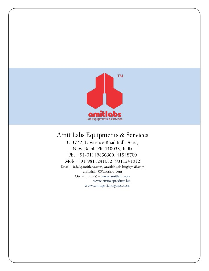 amit labs equipments services c 37 2 lawrence n.
