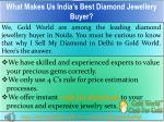 what makes us india s best diamond jewellery buyer
