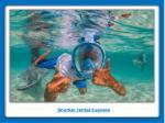 snorkel rental cayman