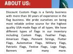 discount custom flags is a family business with