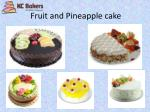 fruit and pineapple cake