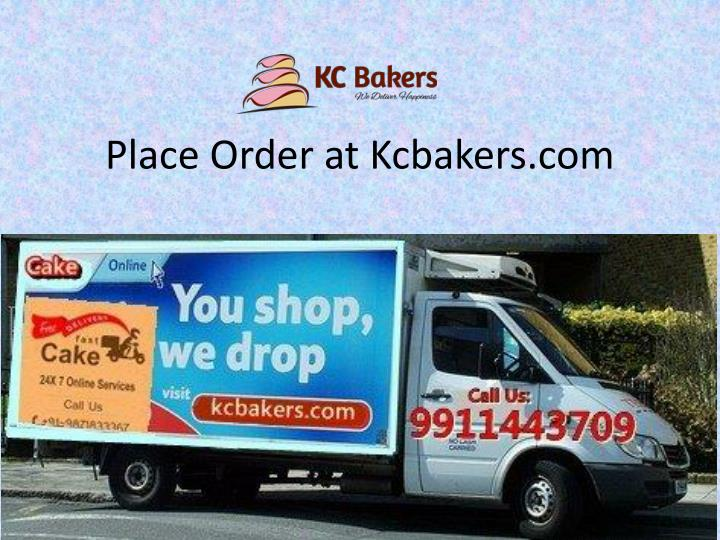 place order at kcbakers com n.