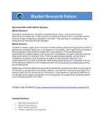 agricultural microbials market synopsis