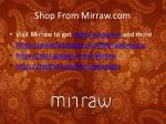 shop from mirraw com