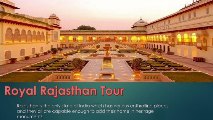 royal rajasthan tour n.