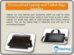 personalized laptop and tablet bags supplier