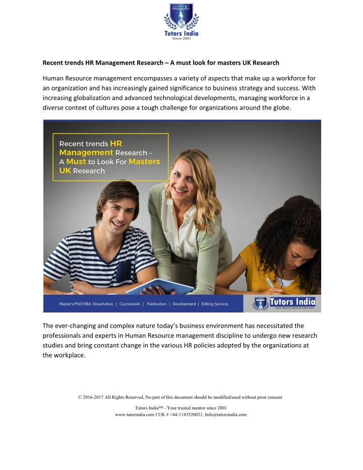 recent trends hr management research a must look n.