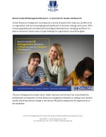 recent trends hr management research a must look