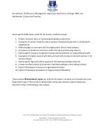 recruitment performance management appraisals