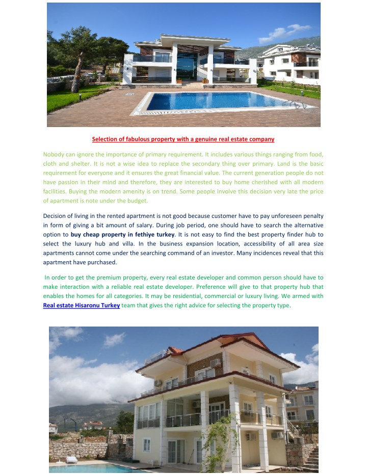 selection of fabulous property with a genuine n.
