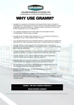 why use gramm