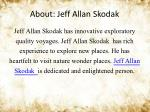 about jeff allan skodak