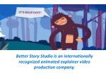 better story studio is an internationally