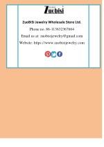 zuobisi jewelry wholesale store ltd