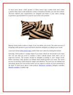 to learn more about a hide product or zebra