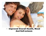 improved overall health mood and self esteem