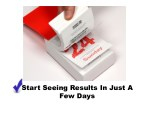 start seeing results in just a few days