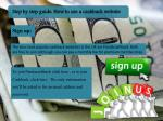 step by step guide how to use a cashback website