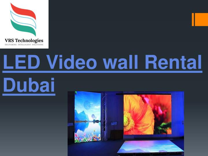 led video wall rental dubai n.