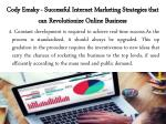 cody emsky successful internet marketing strategies that can revolutionize online business 7