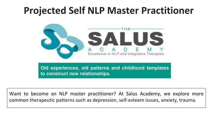 projected self nlp master practitioner n.